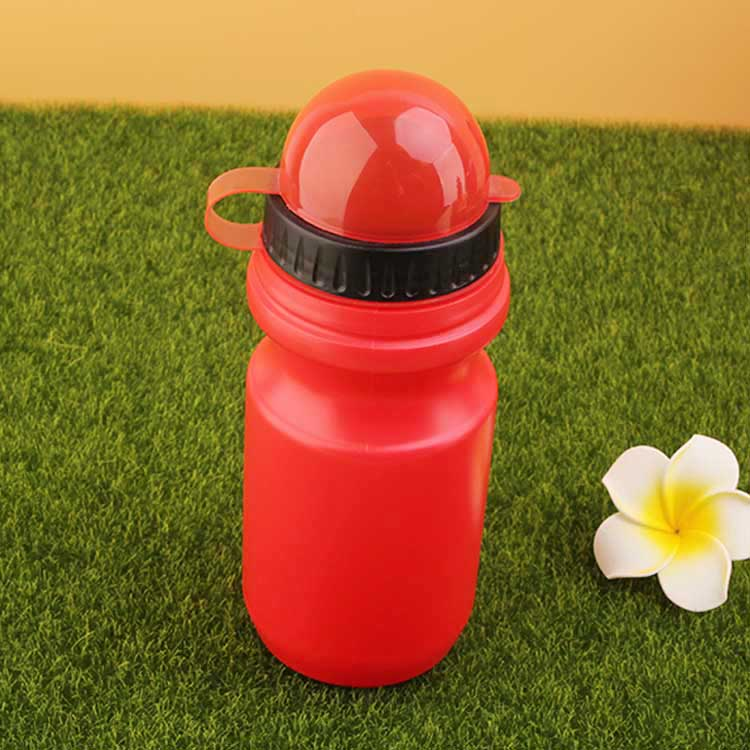 Food grade plastic reusable sports hot water bottle