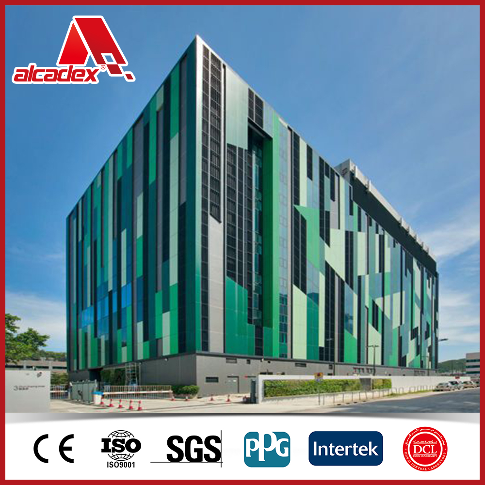 solid color aluminum outdoor wall panels exterior composite wall siding