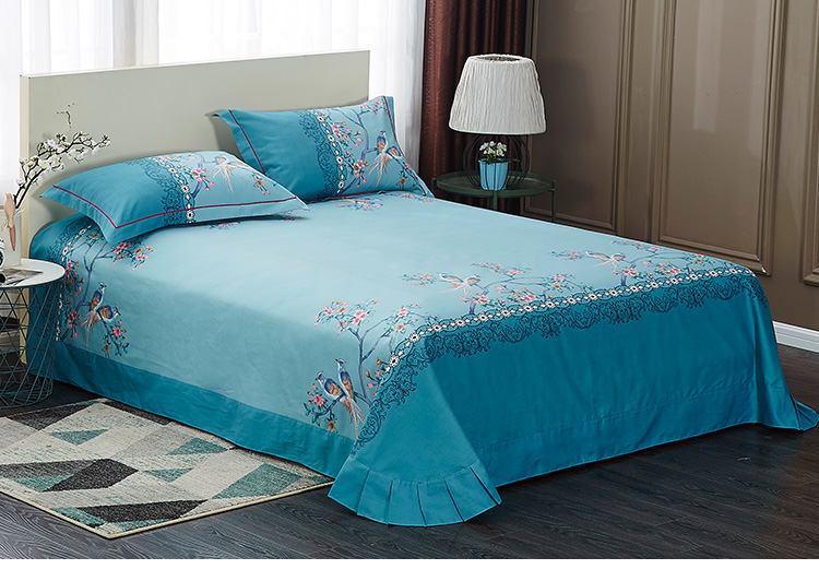 Wholesale Custom Print Bedding Set Bed Sheet Sexy