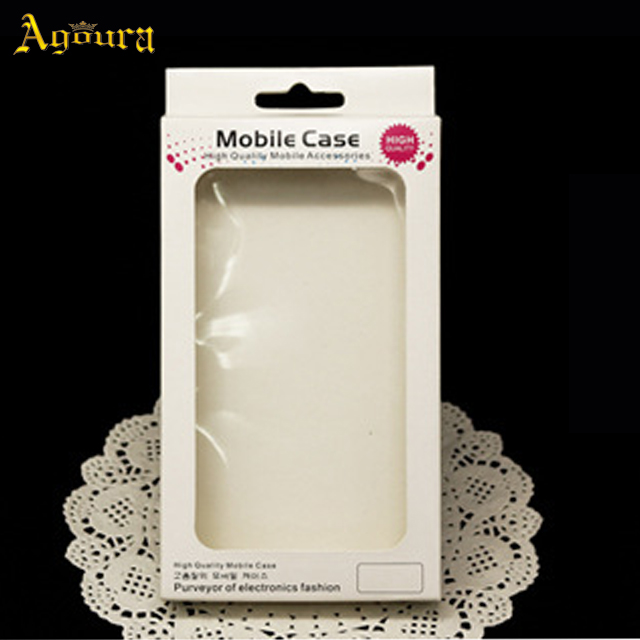 Beautiful mobile phone case packaging box in stock
