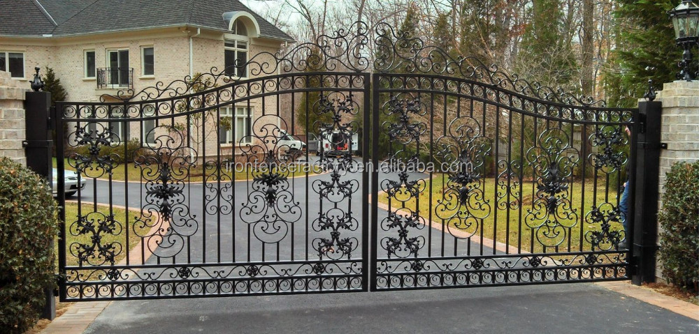 Modern House Gate Grill Designs Luxury Wrought Iron Gate Steel Gate Drawing Buy Simple Iron