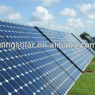 Solar cell Panel, price for watt with high efficiency 125x125 mono soalr cells