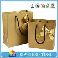 2015 Guangzhou Manufacturer Customized high quality packing paper bag
