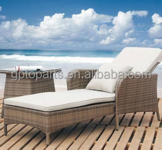 Out-door & indoor Rattan Bed, Gardon rattan bed,