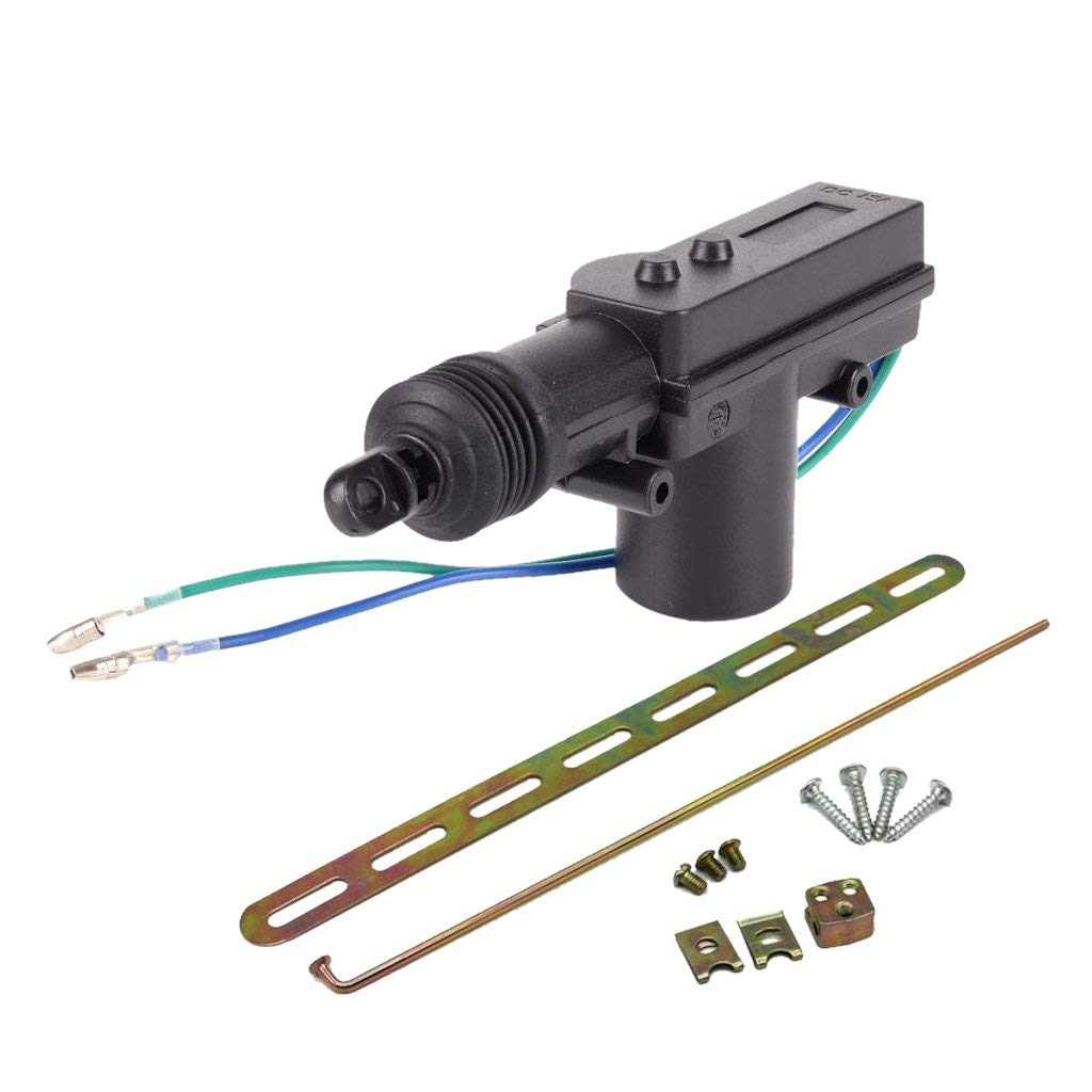 Non-Brand Black Plastic Heavy Duty Power Door Lock Actuator Motor 12 Volt with 2 Wire