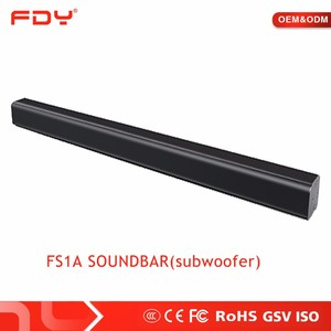 DPS 3 surrounding high quality bluetooth soundbar wall mounted taptop sound bar for home TV