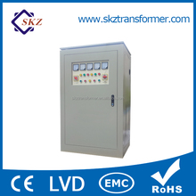 Custom Made 380V Automatic Three Phase Voltage Regulator 500KVA