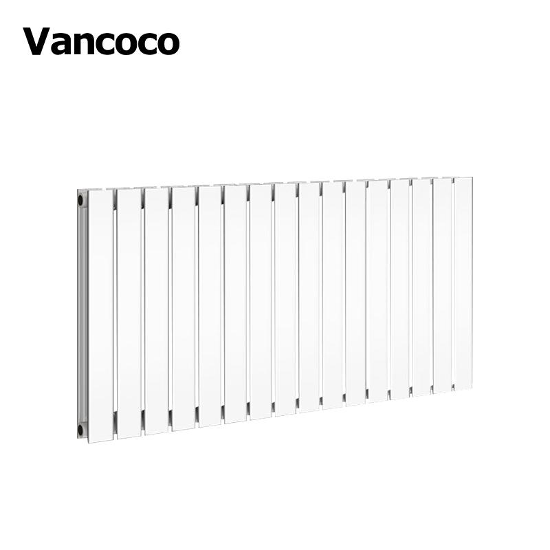 Vancoco 600X1210 Mm Trắng Tăng Gấp Đôi Phẳng Nhà Nước Hệ Thống Sưởi Ấm Tản Nhiệt