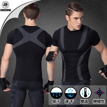 Shaping Plastic Suit Soft Comfortable Breathable Quick Drying Short - Sleeve MA09