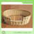 Handmade oval Wicker dog bed/ Wooden dog bed/Wicker baskets for dogs