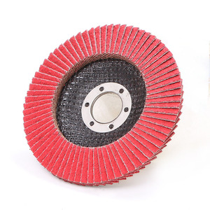 4.5 inches Ceramic flap disc in abrasive tools with TUV certificate