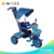 Cheap the bset children plastic baby walker stroller tricycle with 3wheels bicycle