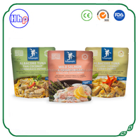 high quality air proof custom printing ready meal packaging pouches