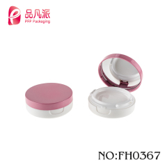 High quality new design cone shape plastic double checks eyeshadow container for sale