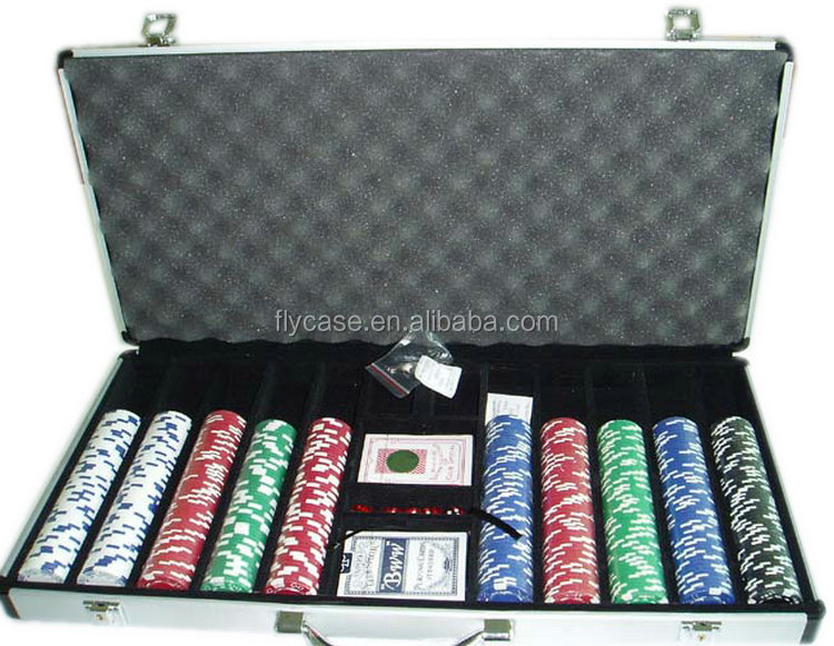 wholesale 600 ALUMINUM POKER CHIP SET,aluminum case poker set