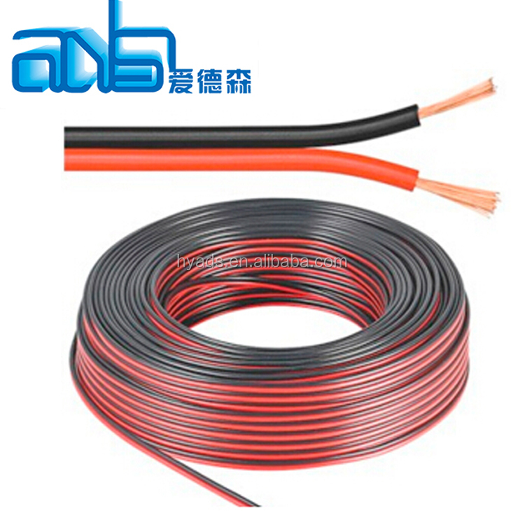2 Cores 22awgx2c Stranded Wire Flexible Flat Cable - Buy Flexible ...