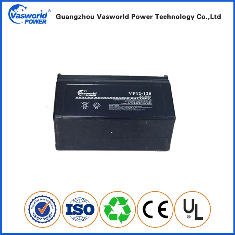 China supplier offer 12v 120ah gel battery bank for chile solar market