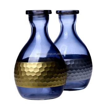 Smoking Dogo Shisha Shine Transparent Hookah Vase Silver Colored