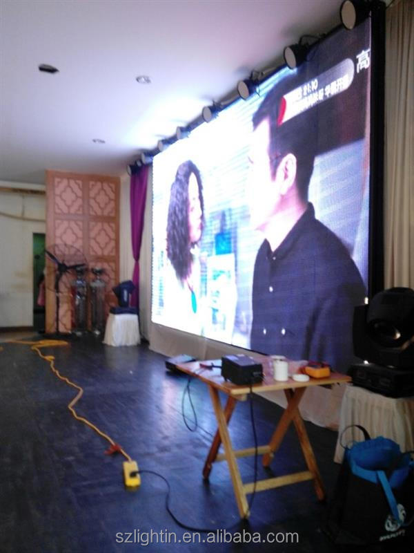 Fresh on market color programmable led sign p3 hd indoor rental use led