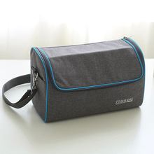 unique design fancy insulated kids thermal messenger sling dual compartmen lunch bag wine cooler bag