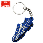 China Factory Price Sale Custom Combined Vinyl Sport Soft PVC OEM Shoe Keychain For Promotion