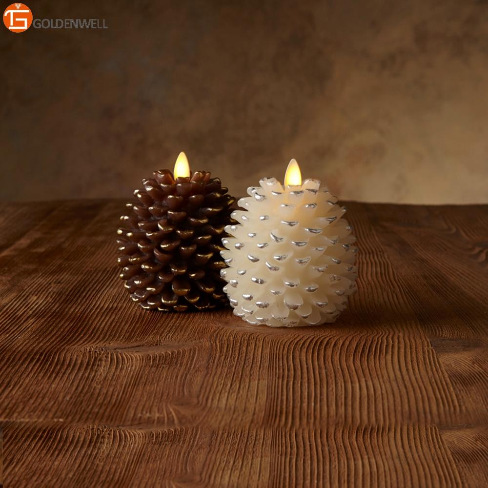 Luminara Christmas Candles