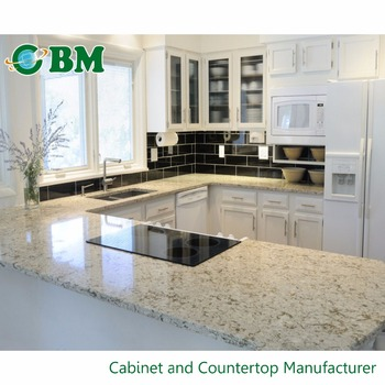 Marvelous Customized Thickness Man Made Granite Countertops