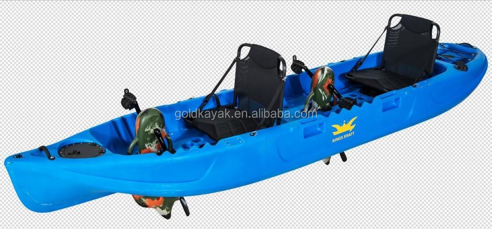 Double pedal drive kayak two person fishing kayak buy for 2 man fishing kayak