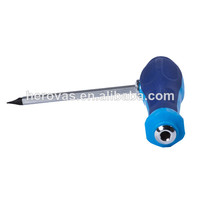 PP +TPR Handle Satin finish L Type Cr-V 50-53HRC Right Angle Screwdriver