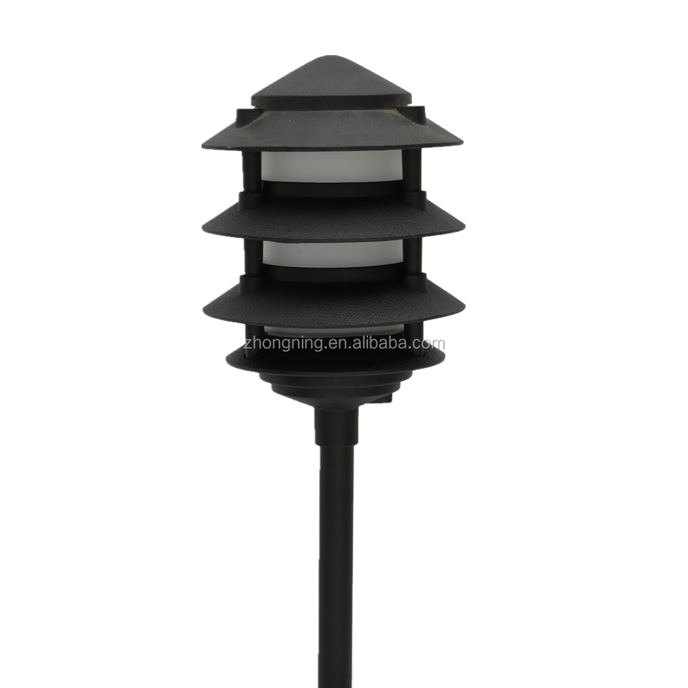aluminum fence post light led street light outdoor lamp