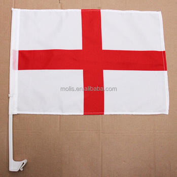 Stock cheapfootball soccer fans England car window flag