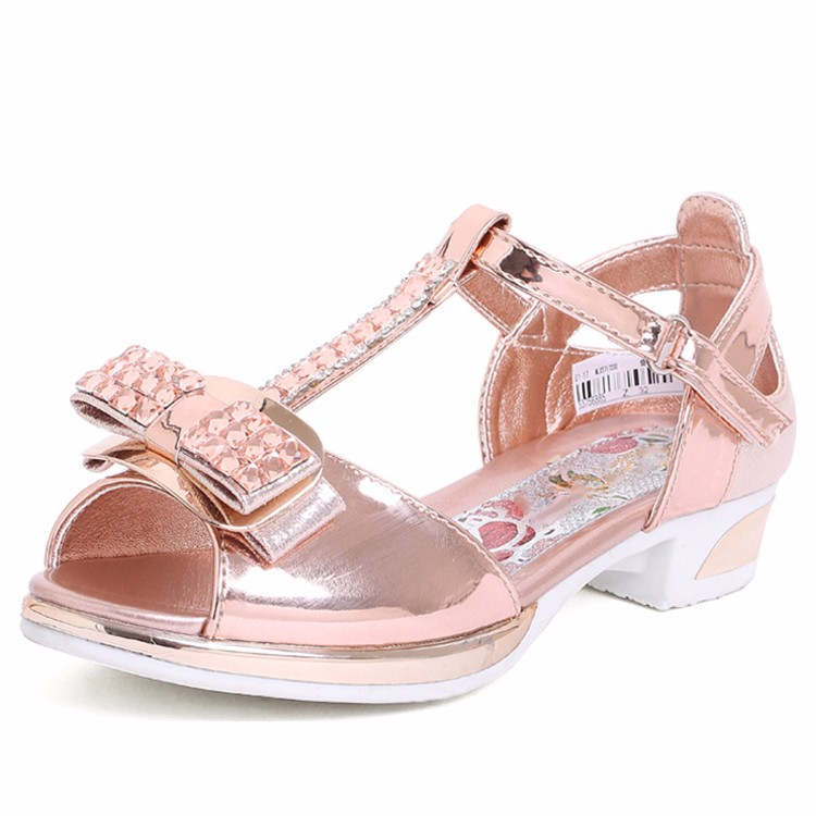 ccab5bc73 summer modern beautiful fashion new sweet design fancy footwear children  young latest girls high heel sandals for girls