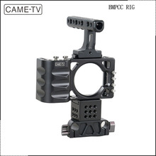 CAME-TV DSLR Camera BMPCC Rig For BlackMagic Pocket Cinema Cameras 15mm Rail