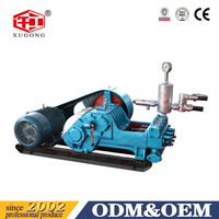 HENAN BW Series Concrete Mud Pump Machine For Sale Drilling Dig Piston and Plunger Type Triplex Mud Pump