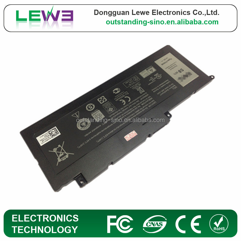 Genuine New F7HVR battery For Dell Inspiron 15 7537 Insprion 17 7737 G4YJM 062VNH T2T3J