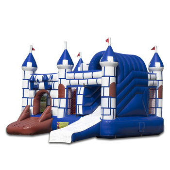 Fun City White Commercial Used Adult Bouncer Inflatable Castles Bouncing Jumping Bouncy Castle With Prices For Sale For Wedding