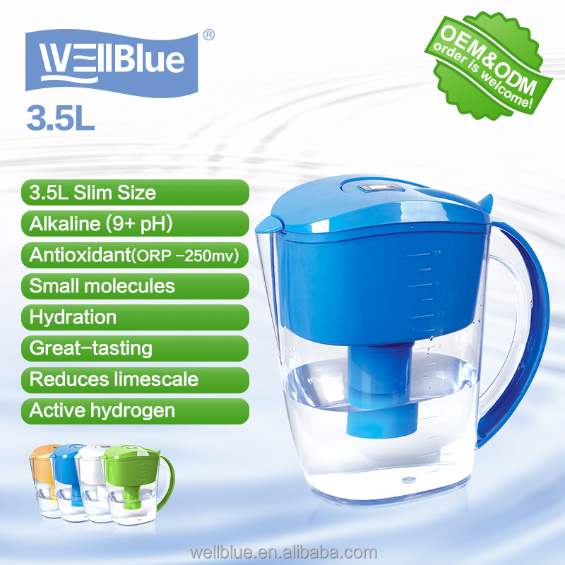 Factory supply 3.5L water filter pitcher