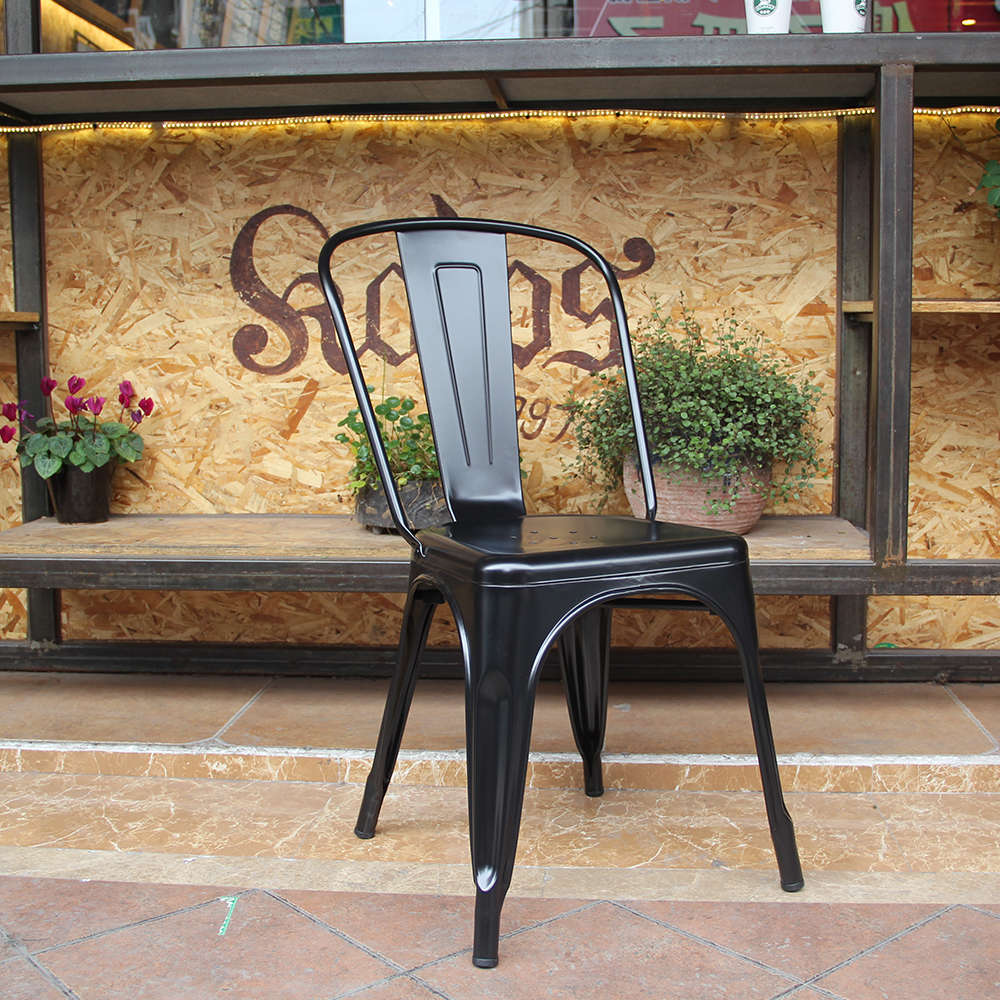 Wholesale cheap outdoor vintage industrial style bar cafe metal furniture