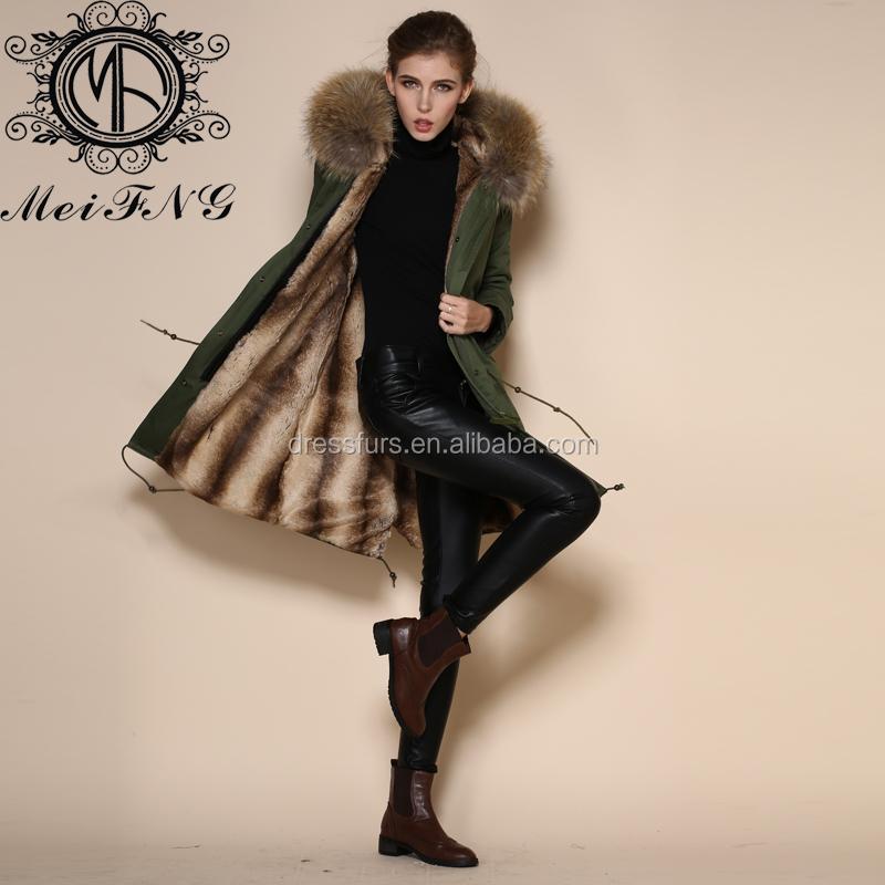 Wholesale 2016 latest unique women thick long winter coats with ...