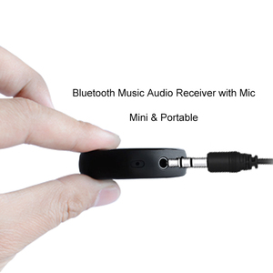 BTI-017C Mini Bluetooth 4.1 Receiver A2DP Wireless Adapter With Mic For Home Theater Car Smart Device