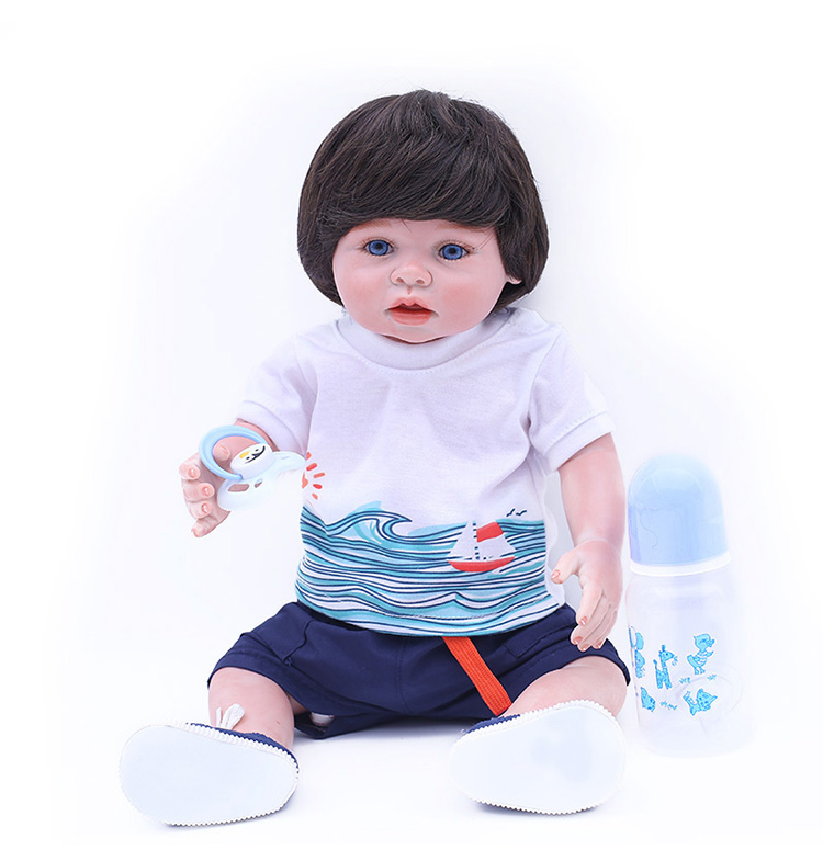OtardDolls 45cm full silicone reborn baby doll and vinyl baby dolls small for sale