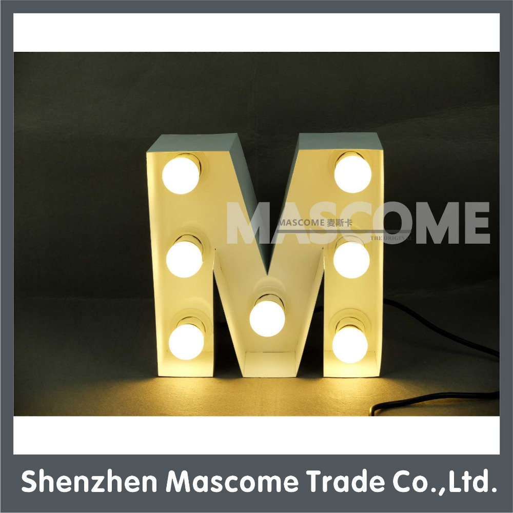 Iron Letters For Decoration, Iron Letters For Decoration Suppliers ...