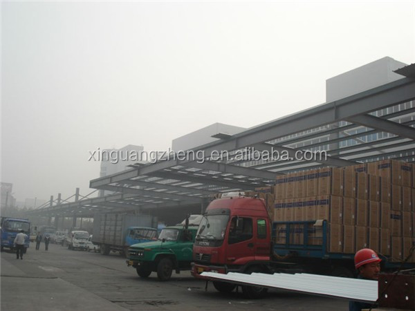 metal cladding fast erection steel frame structure builders warehouse