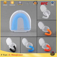 Double Color Mouthguard Boxing Mouthguard Gel Mouth guard/mouth guard case