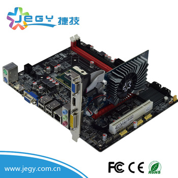Hot and Best sales Motherboards HM55 with i3 i5 i7 PGA988 DDR3 CPU motherboard for asus