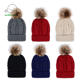 2017 High Quality Plain Knitted Hats Custom Cheap Beanie Caps Winter Hats  for Women ebb89d9a25c