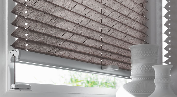 2015 Newe Design Cheapest No Need Screw Pleated Blind For