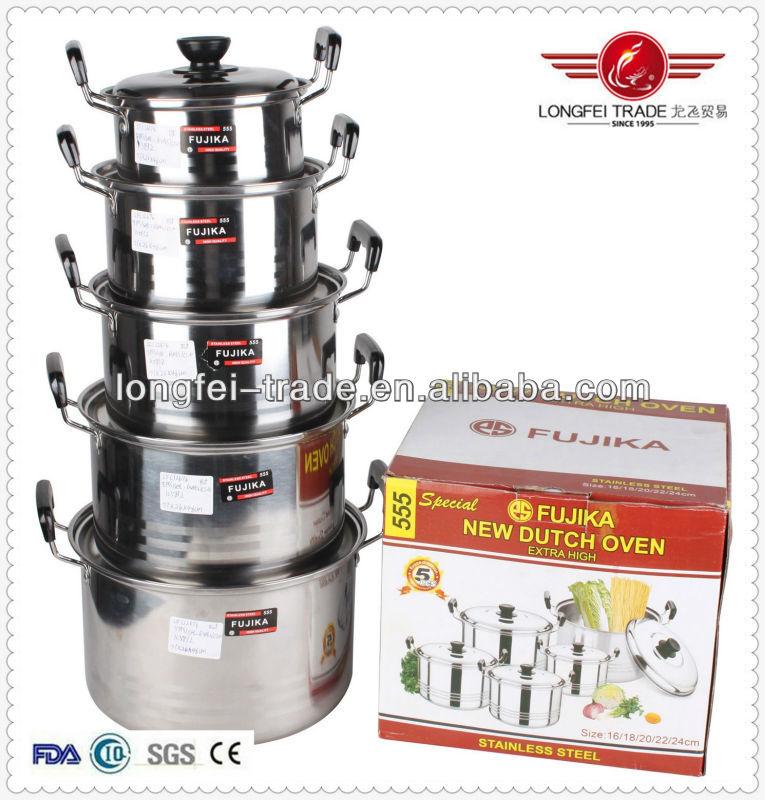 2014 High Grade Cookware,555 Stainless Steel Pot