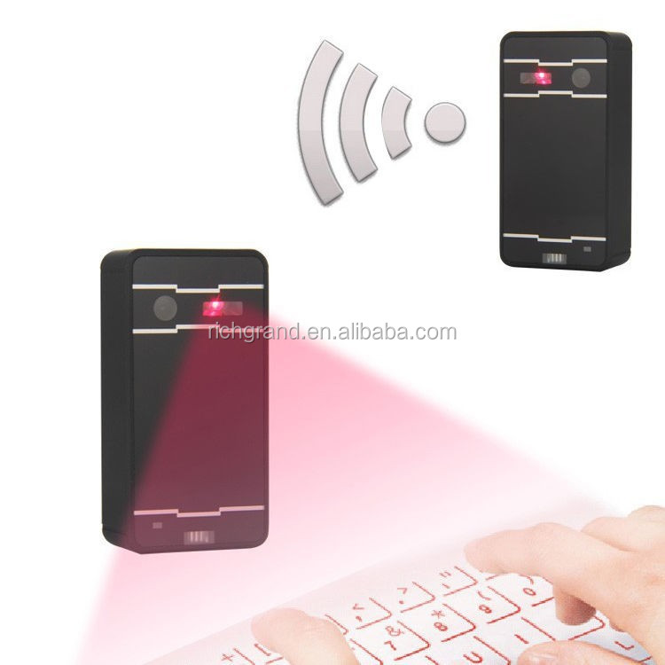 Wireless bluetooth laser projection virtual keyboard for smart phones PC tablet loptop