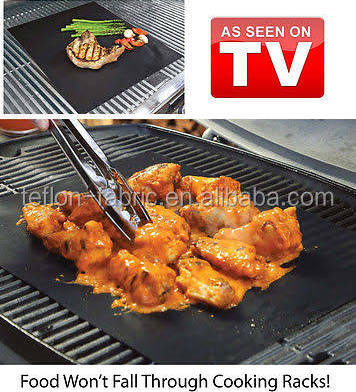 Best seller in Amazon BBQ non-stick grill mat teflon BBQ cooking mat